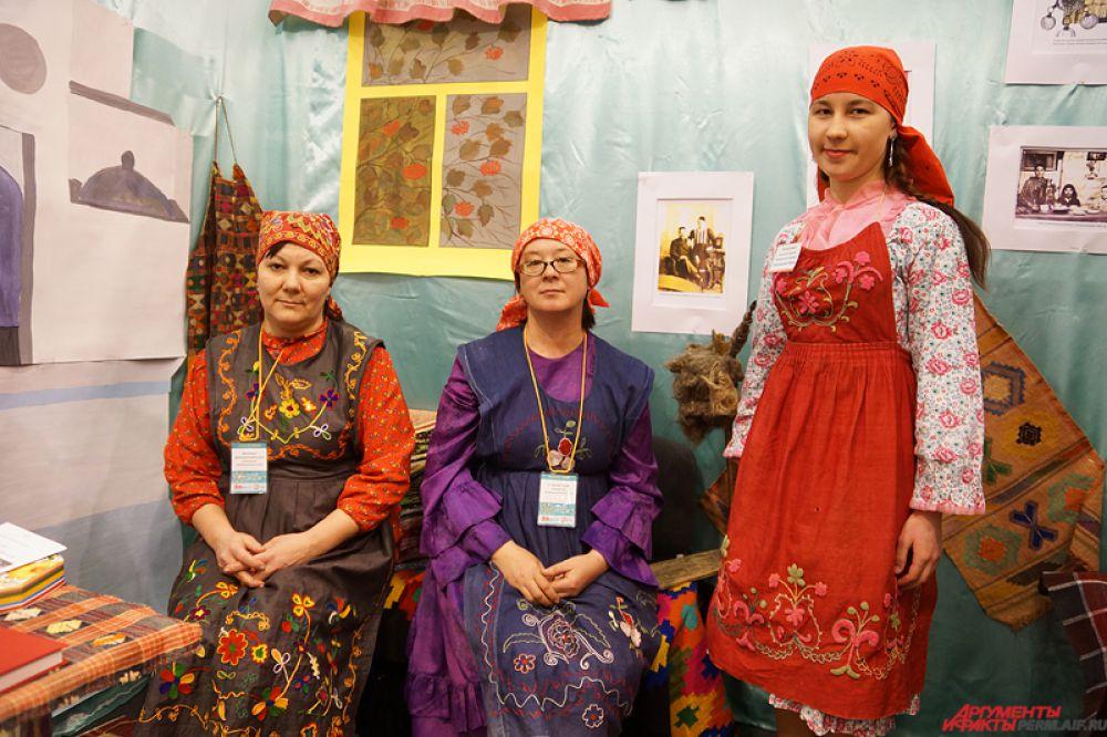 Традиционный татарский наряд.