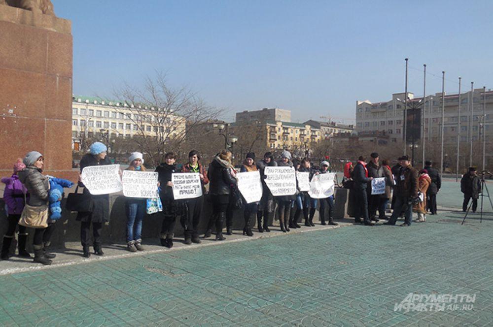 24 марта женщины намерены провести ещё один пикет.