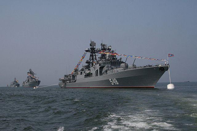 Корабли ТОФ.