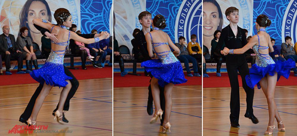 Дисциплина «Латина». Анастасия Копылова и Вадим Решетило - серебряные призеры.