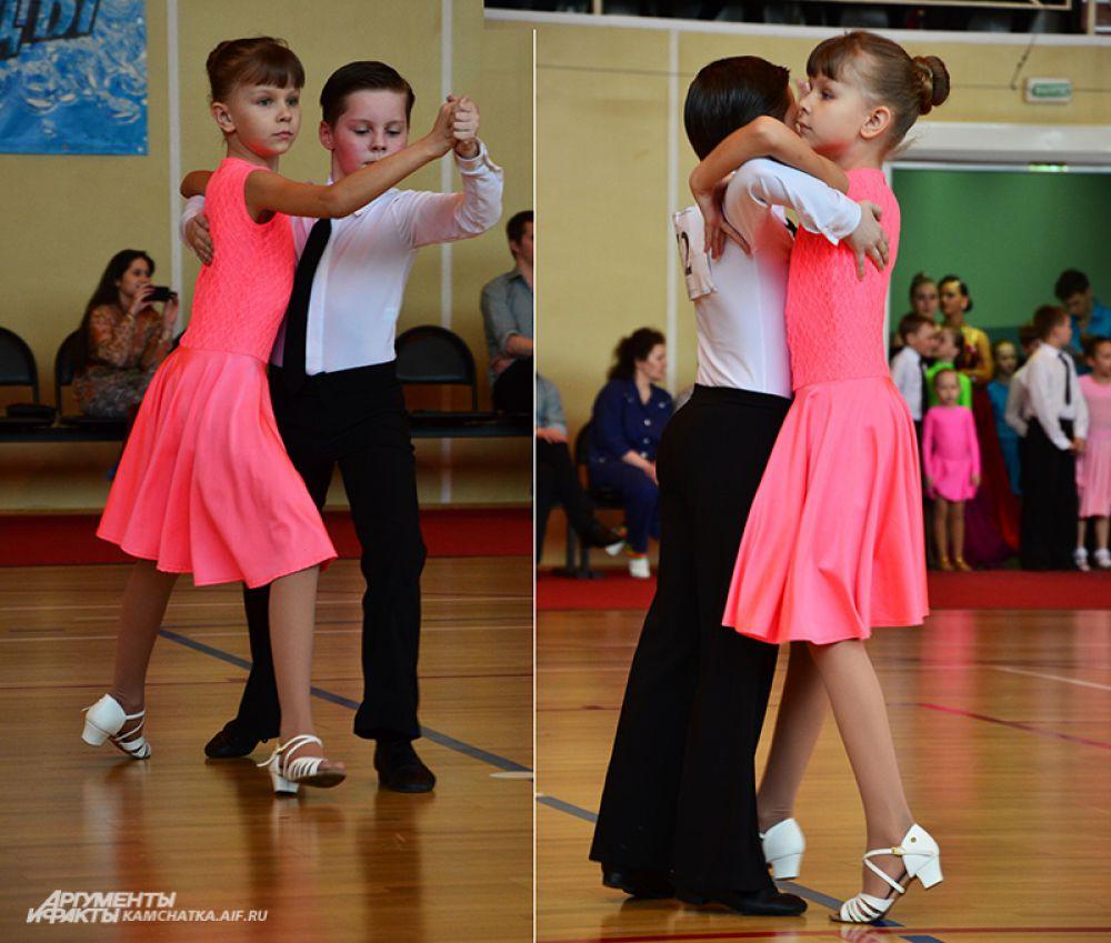 Виктория Рубанова и Сергей Томилов из Елизово - очень гармоничная пара.