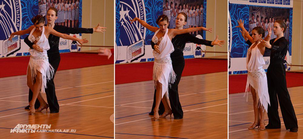 Алина Кривдина и Алексей Поляков. Самый страстный латинский танец - румба.