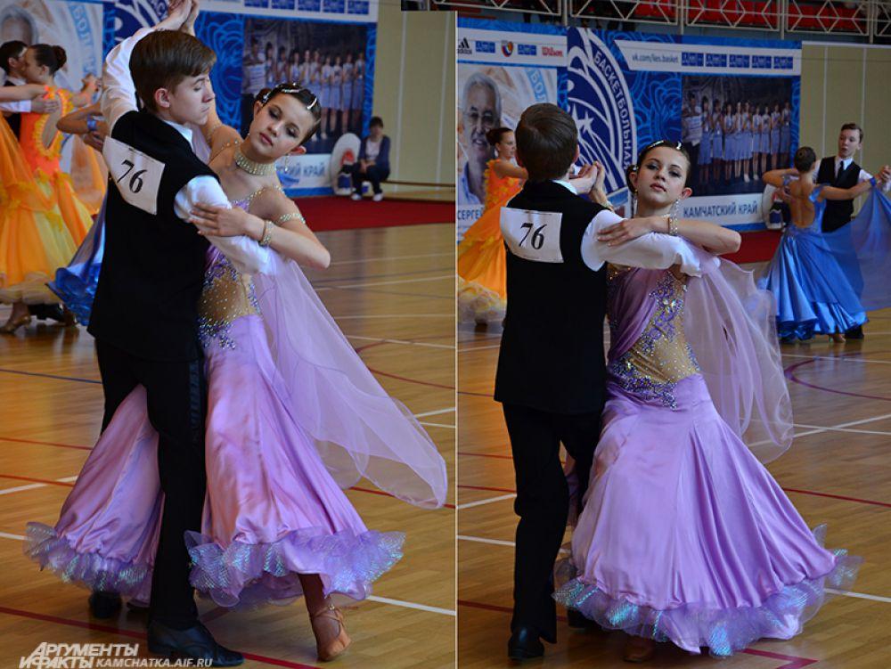 Пара из Вилючинска - Анастасия Копылова и Вадим Решетило.