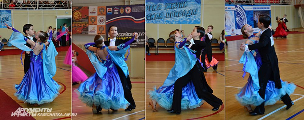 Екатерина Терехова и Игорь Коркин - будущие бронзовые призеры в дисциплине «Латина».
