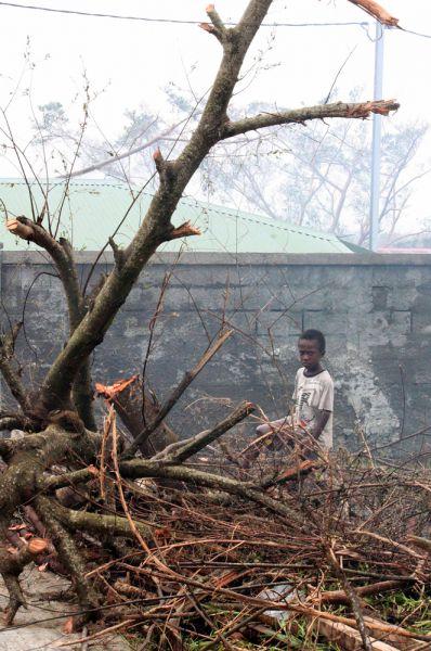 В островное государство Вануату, на который недавно обрушился разрушительный циклон, доставили первую партию гуманитарной помощи.