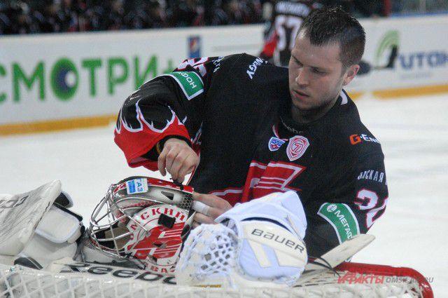 Константин Барулин займёт место в воротах и в третьем матче.