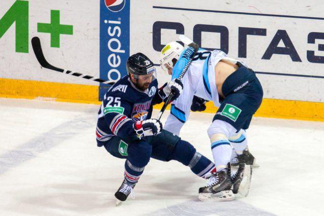 Новосибирская «Сибирь» по-крупному проиграла «Металлургу»