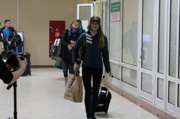 Бурю восторгов вызвало появление трехкратной олимпийской чемпионки Дарьи Домрачевой. Мы же помним, что Даша - югорчанка!