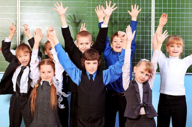 Записаться в первый класс можно всего за две минуты!