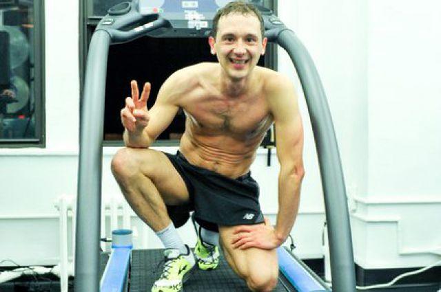Денис Михайлов после установления мирового рекорда
