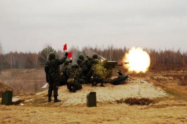Военные учения в Украине