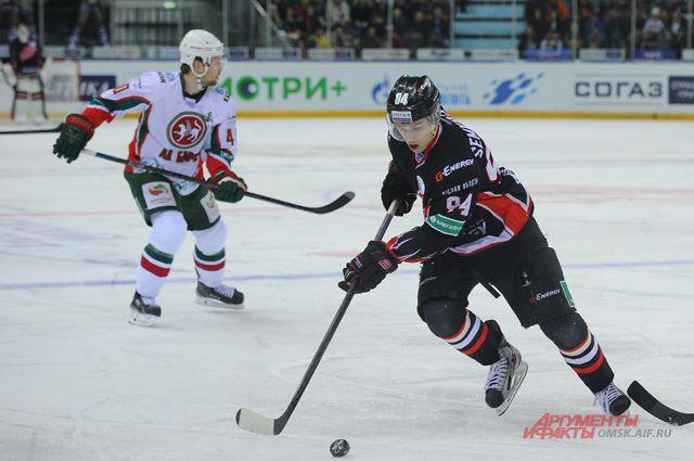 Омская молодёжь набирается опыта в играх плей-офф.