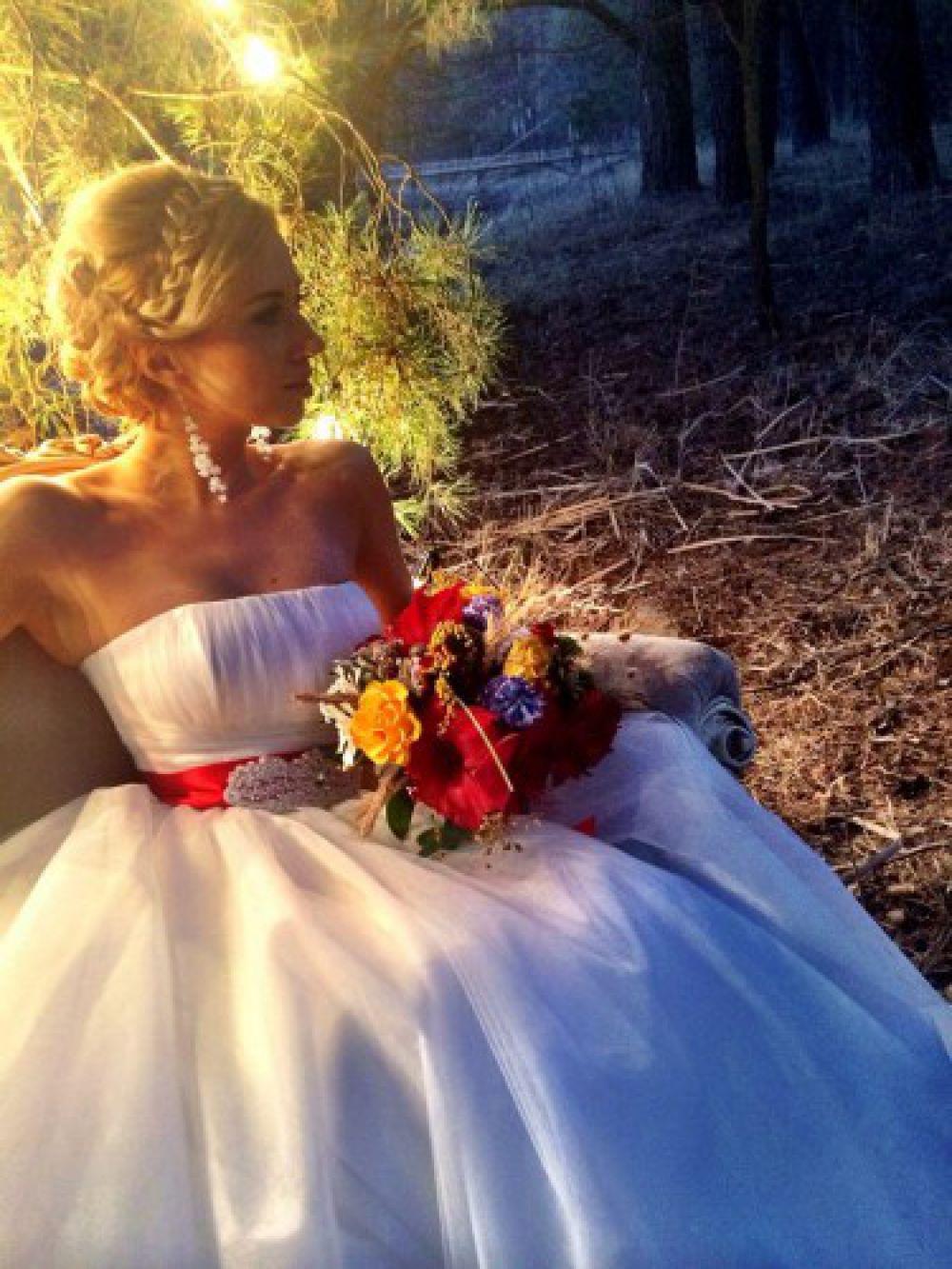 Трогательная свадебная фотосессия Тони Матвиенко