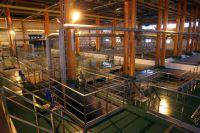 Этот блок водоподготовки на Южной водопроводной станции является одним из самых современных в России