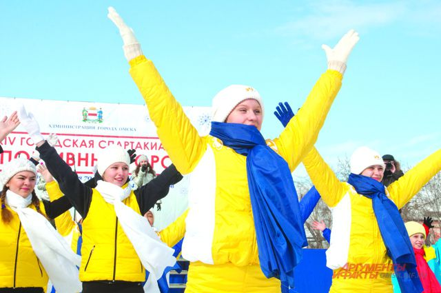 Спортивный праздник подарил участникам много улыбок.