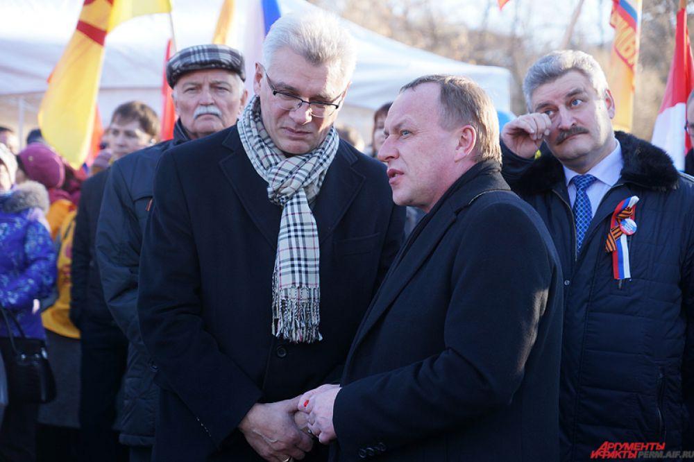 Пермские чиновники не обошли стороной патриотическую акцию.