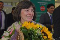 Долгожданное возвращение. Мария Филатова прилетела в Москву. Сентябрь, 2014 год.