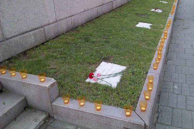 Мемориал «Вечный огонь» в Иркутске.