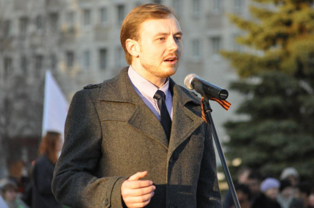Виталий Киселев - специалист по работе с обучающимися профсоюза САФУ.