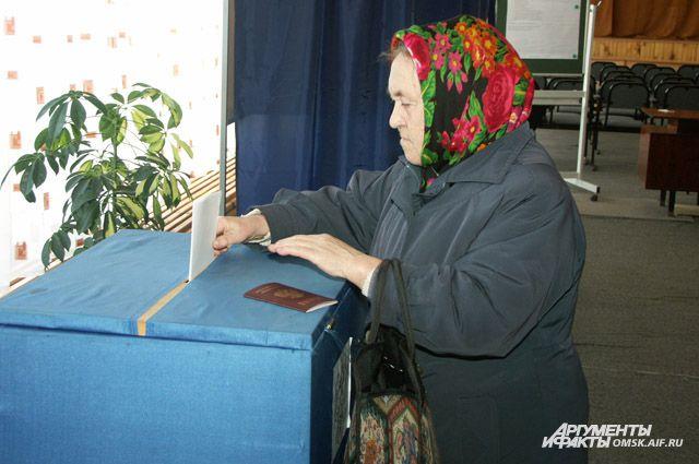 Избиратели Омской области перестали быть избирателями.