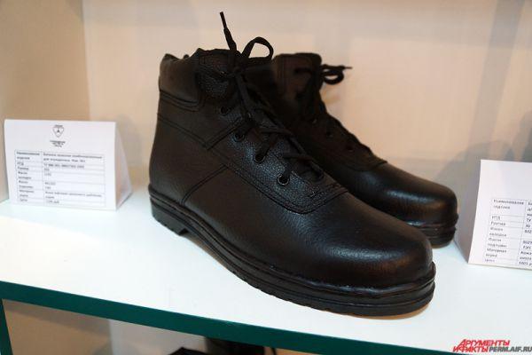 Мужские туфли из кожи обойдутся в тысячу рублей.