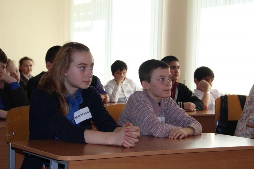 Седьмой класс, а какой взрослый взгляд...