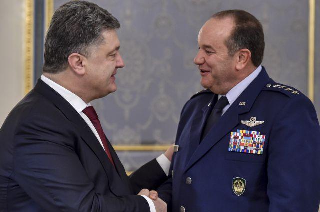 Встреча Порошенко с главой НАТО
