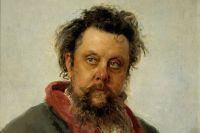 Портрет композитора Мусоргского работы Ильи Репина