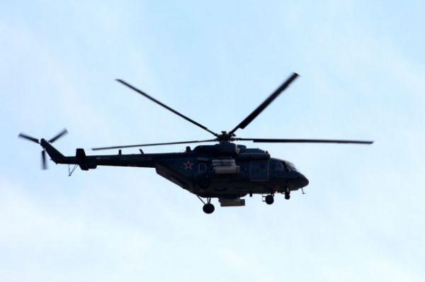 В авиашоу участвовали вертолеты Ми-8 АМТШ «Терминатор», а также Ми-28Н «Ночной охотник», который производится в Ростове.