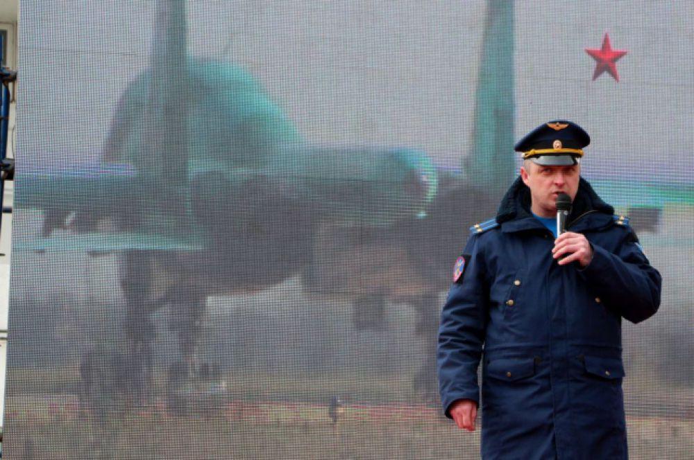 Акция в Ростове-на-Дону по набору на службу в армию завершилась полётами «Русских витязей».