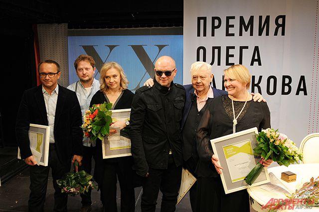 Лауреаты Премии Олега Табакова.