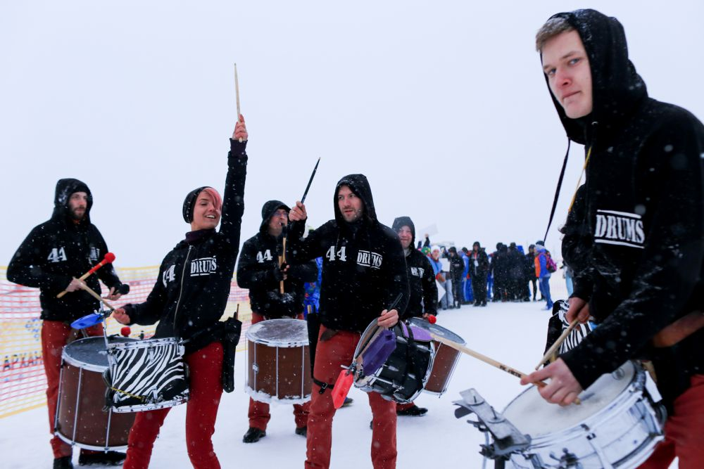 Поморские барабанщики.