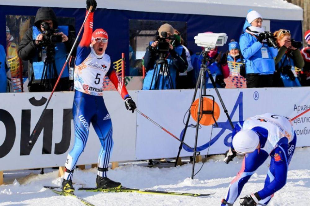 Андрей Парфенов стал лучшим спринтером России