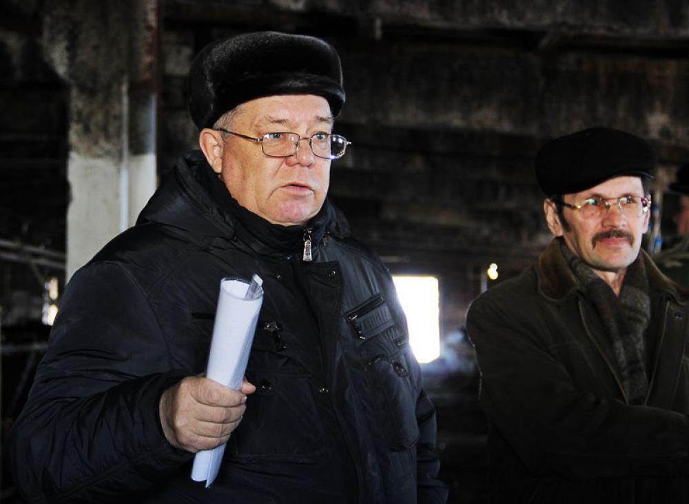 Председатель СПК «Бахтеевский» Мухаррям Салихов провёл экскурсию по своему хозяйству