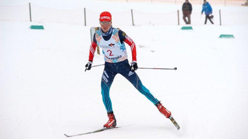 Наталья Жукова из Татарстана стала лучшей в скиатлоне.