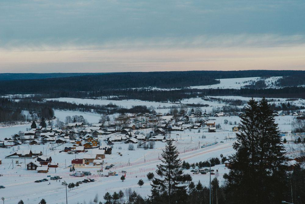 Здесь проходит чемпионат России по лыжным гонкам.