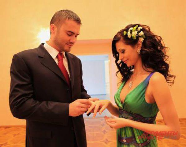 Свадебная церемония Виктора и Ольги