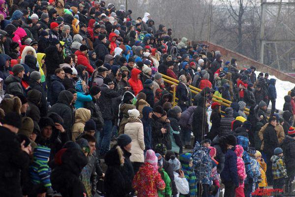 Мероприятие посетили более тысячи горожан.