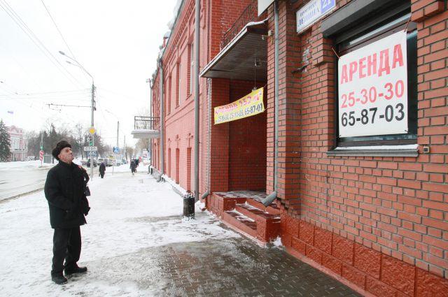 Еще недавно занятые предпринимателями площади сегодня сдаются в аренду.
