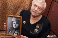 Единственная в Калининградской области обладательница Ордена Славы Фаина Левченко.