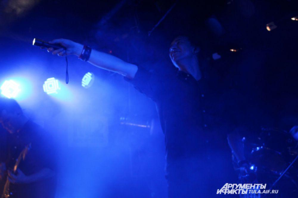 Музыканты открывались и буквально «горели» на сцене