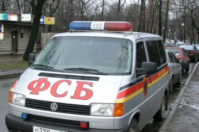 Оперативная машина ФСБ.