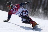 Вик Уайлд на Олимпиаде в Сочи.