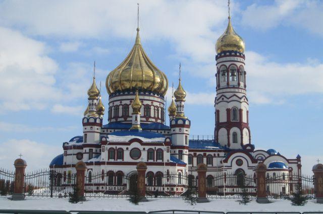 Собор Рождества Христова в Новокузнецке.