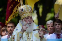 Глава самопровозглашённой Украинской Православной Церкви Киевского Патриархата Филарет.