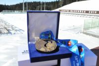 Медаль Сурдлимпиады.
