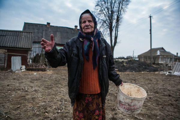 Жительница посёлка Ново-Николаевский Выгоничского района.