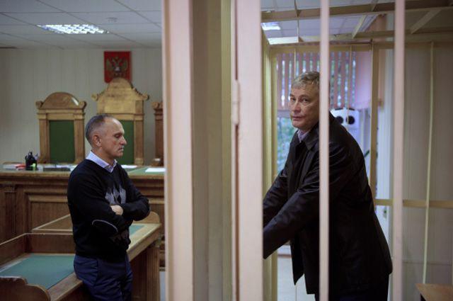 Виктор Ардабьевский в суде.