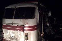 Взрыв автобуса в Артемовске