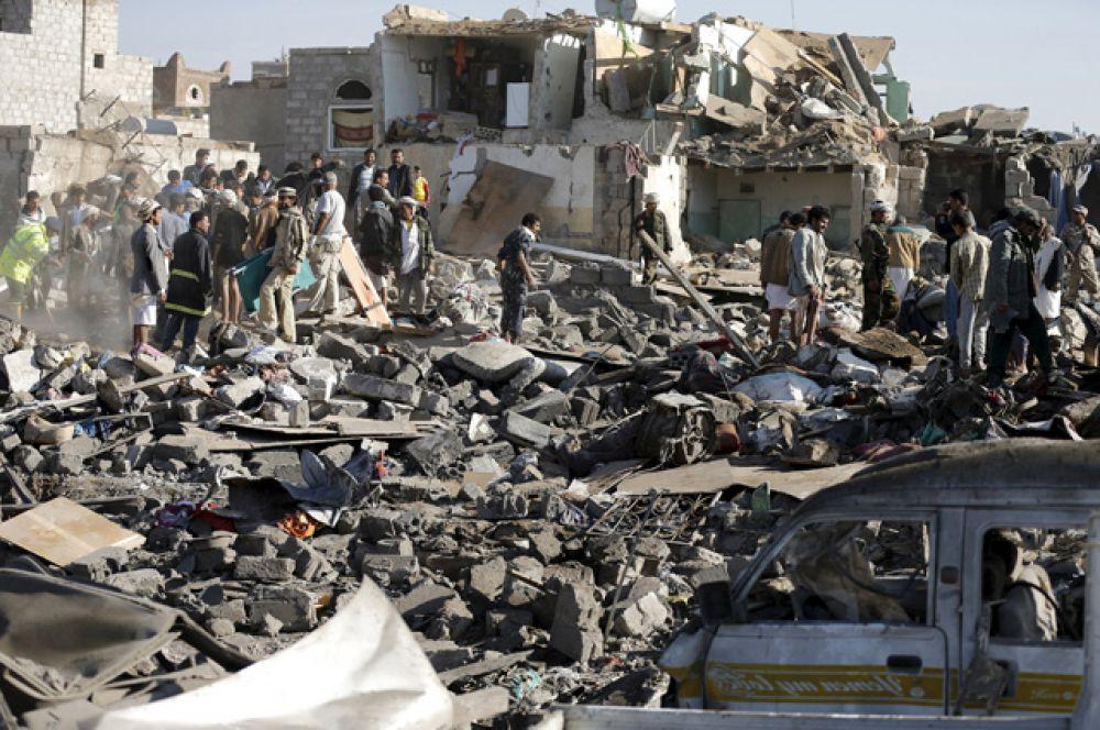 Мировые цены на нефть показали рост в связи с сообщениями о начале военной операции против повстанцев в Йемене.